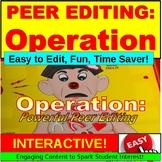 Peer Editing: Writing PowerPoint