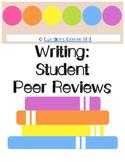 Peer Essay Review Checklist