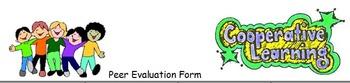 Peer/Self-Evaluation Form