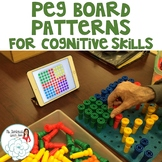 Peg Board Patterns for Cognitive Therapy