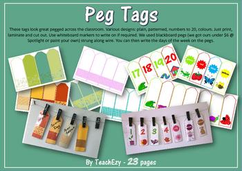 Peg Tags