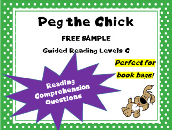 """Peg the Chick and the Balloon"" text questions from ""Tug t"