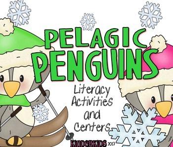 Pelagic Penguins {Literacy Activities and Centers}