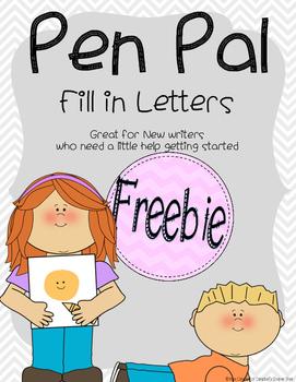 Pen Pal Letters *FREEBIE*
