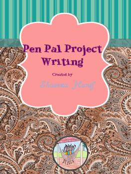 Pen Pal Project - Writing
