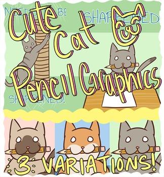 Pencil Cats