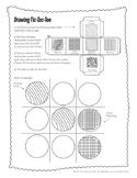 Pencil Drawing Tic-Tac-Toe