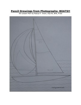 Drawing Boats!! Art Lesson!!