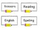 Pencil Labels