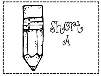 Pencil Perfect Sort: Literacy Center