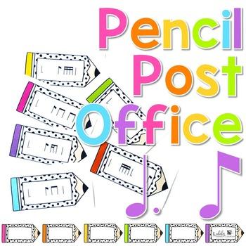 Pencil Post Office Rhythm Games: tam-ti / tom-ti