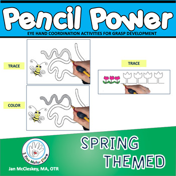 Fine Motor Pencil Power Deluxe! Skills centers to teach pe