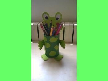 Pencil holder DIY