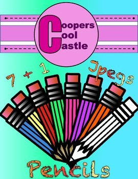 Pencils (Creative Digital Clipart) CCC