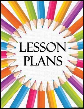Pencils Lesson Plans Book Cover