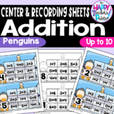 Penguin Add and Cover Up to 10 ~Perfect for Mini-Erasers!~