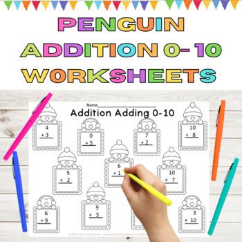 Penguin Addition Adding 0-10