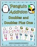 Doubles Addition & Doubles Plus One- Penguin Theme-Doubles