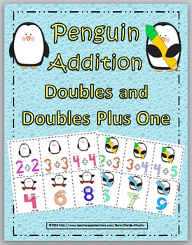 Penguins Addition Games with Doubles and Doubles Plus One