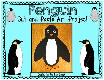 Penguin Art Project- Cut & Paste