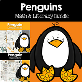 Penguin Math and Literacy Centers Bundle