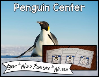Penguin Center ~ Sight Word Writing