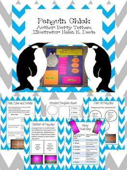 Penguin Chick Amazing Interactive Student Poster