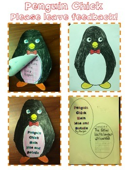 Penguin Chick Comprehension Activity