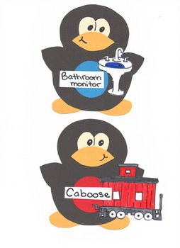 Penguin Classroom Helpers