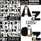 Penguin Clip Art BUNDLE- Letters, Numbers, & Shapes {jen h