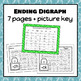 Penguin Digraph Dab It Worksheets