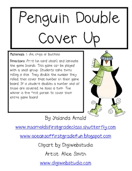 Penguin Doubles Cover Up