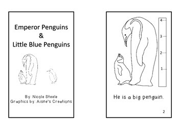 Penguin Emergent Reader Compare and Contrast