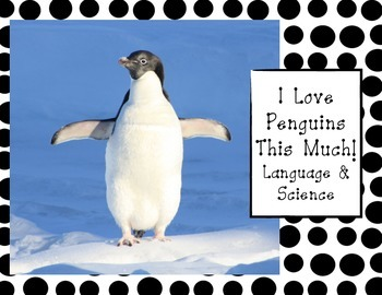 Penguin Language Arts & Science Unit For Pre-K, Kindergart