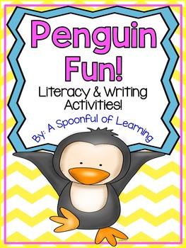Penguins: Literacy & Writing Fun!