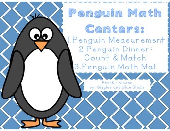 Penguin Math Centers (Easy Prep)