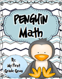 Winter Penguin Math Tubs