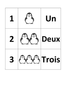 Penguin Number Puzzle (En Français)
