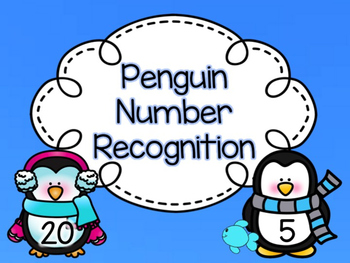 Penguin Number Recognition Game
