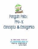 Penguin Pals: Pre-K Concepts & Categories