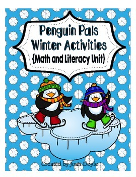 Penguin Pals Winter Activities {Math and Literacy Unit}