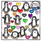 Penguin Clipart Bundle