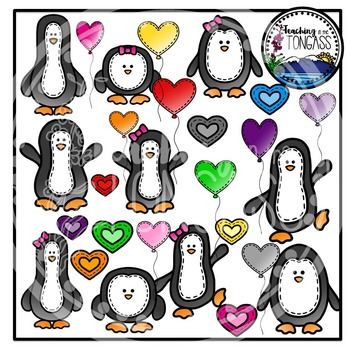 Penguin Clipart Bundle