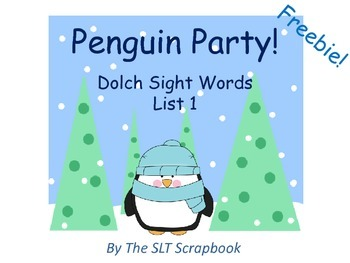 Penguin Party- Dolch Sight Words