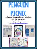 Penguins!  Penguin Picnic!  A Penguin Research Project PLU