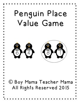 Penguin Place Value Game