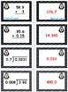 Penguin Plunge Game Cards (Multiply & Divide Decimals) Sets 4-5-6