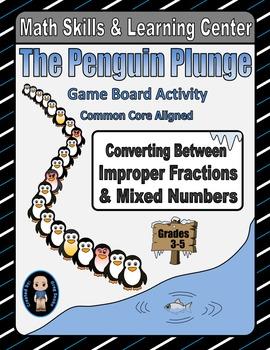 Winter Math Skills & Learning Center (Improper Fractions &