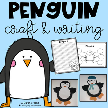 Penguin Plunge {writing craft & printables!}