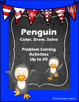 Penguin Problem Solving Activities and Printables